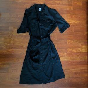 Classic button down shirt dress by Ann Taylor